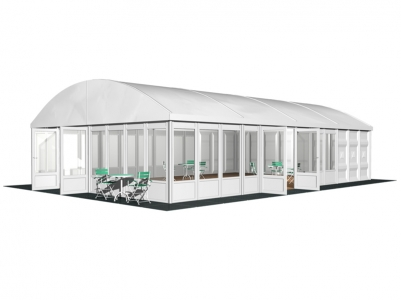 Curve Frame Tents